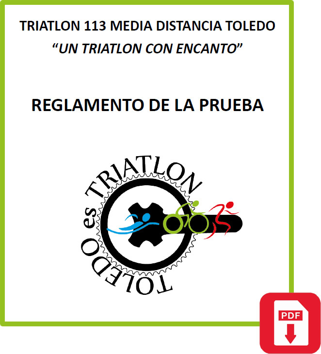 REGLAMENTO TRIATLON MEDIA DISTANCIA TOLEDO
